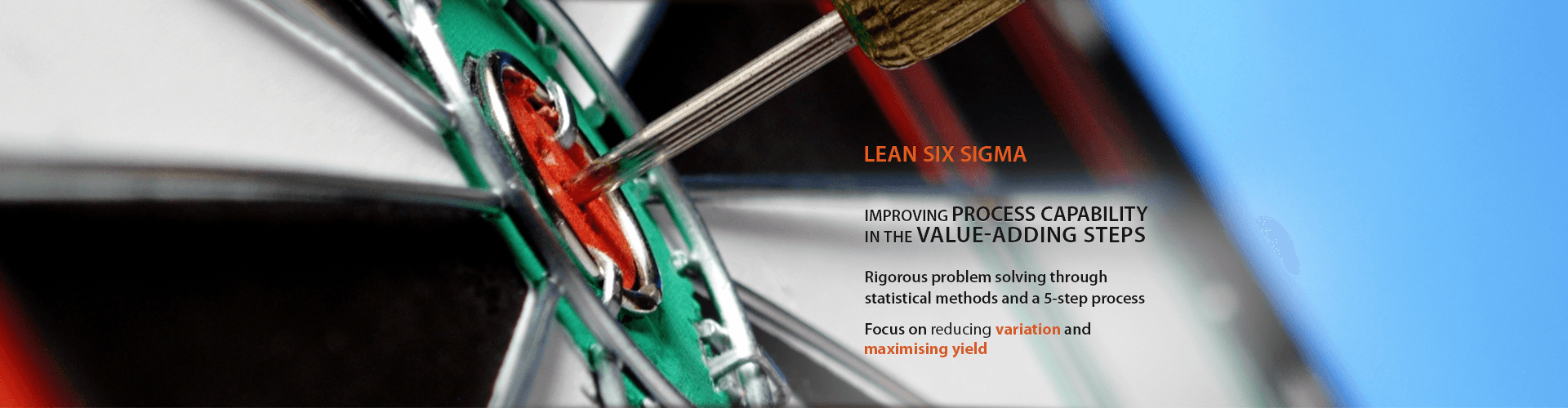 Lean Six Sigma - Improving process capability in the value-adding steps